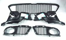 BMW 3 E92 E93 LCI M SPORT FRONT BUMPER LOWER GRILLES SET WITH FOG LIGHT SUPPORT