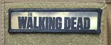 1x4 Walking Dead Logo  Morale Patch Tactical Military Army Badge Hook Flag