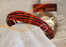 CHROME RED STYLING STRIP TRIM CAR VAN 4MM x 5M FREE POSTAGE
