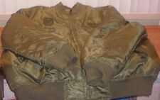 Men Sz XL SOUTHPOLE COLLECTIONS; Army Green w Camouflage Reversible Jacket