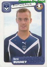 080 HERVE BUGNET FRANCE GIRONDINS BORDEAUX STICKER FOOT 2005 PANINI