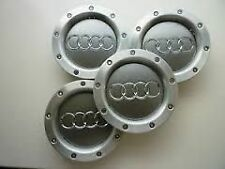 X4 AUDI a4 a6 s6 rs6 TT 146mm Ruota Distintivi center caps RIM HUB CAP 8d0601165k C