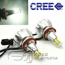 BMW H8 120W CREE LED ANGEL EYE HALO RING LIGHT BULB XENON WHITE NO ERROR E70 X5