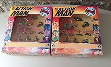 Vintage#Leisure Time 2Xaction Man Micro Machines Size Die Cast#Nib