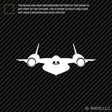 (2x) SR-71 Blackbird Sticker Die Cut Decal Self Adhesive Vinyl skunk recon