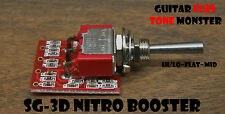 TONE MONSTER SG-3D NITRO BOOSTER Guitar Effect Circuit Expander Hi/Lo/Flat/Mid
