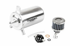 UNIVERSAL BREATHER TANK&OIL CATCH CAN TANK WITH 12mm BREATHER FILTER ,0.5L