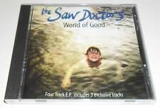 THE SAW DOCTORS - WORLD OF GOOD - 1996 UK 4 TRACK CD SINGLE