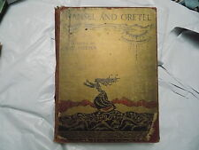 1925 HANSEL and GRETEL and Other Stories Brothers Grimm Illustrated KAY NIELSEN
