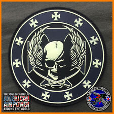 20th Bomb Squadron GLOW IN THE DARK FRIDAY PVC Morale Patch, B-52H Barksdale AFB