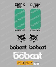 Bobcat 631 Skid Steer Decalcomania Sticker Set
