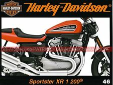 HARLEY DAVIDSON XR 1200 Sportster ( XR 75 ) Tatouages Le Service School MOTO HD