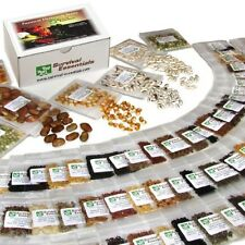 Survival Essentials 135 Variety Premium Heirloom Non Hybrid Non GMO Seed Bank -