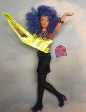 Jem and the Holograms STORMER doll clothes, Guitar and shoes vintage Hasbro