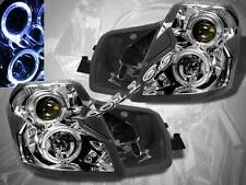 2003-2007 CADILLAC CTS CCFL TWIN HALO CHROME CLEAR PROJECTOR HEADLIGHTS
