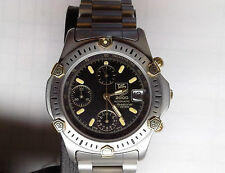 TAG Heuer Super 2000 165.306/1 Automatic Chronograph Stainless 18K Gold