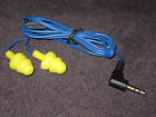 PlugFones Head Phones Ear Plugs - 3.5mm MP3 Headphones that function as Earplugs