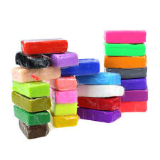 24pcs Malleable Fimo Polymer Modelling Soft Clay Blocks Plasticine DIY Toys NEW