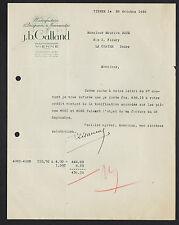 """VIENNE (38) USINE de DRAPERIES & NOUVEAUTES """"J.B. GALLAND"""""""