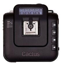 Cactus Wireless Flash Transceiver V6 IIs Funksender und Empfänger für Sony Alpha