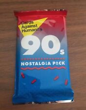 Cards Against Humanity - 90s Nostalgia Pack - Expansion Set 30 Cards Sealed New