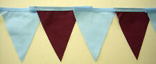 ASTON VILLA FOOTBALL CLUB COLORATE Bunting 2 metri o più lunghezze Premiership