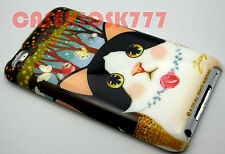for iPod touch 4th 4 th 4g itouch kitten cat kitty butterfly flower hard case