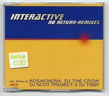 Interactive Maxi-CD No Return REMIXES - 4-track remix CD - INT 8 84853 2
