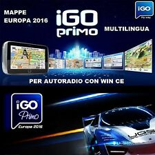 SOFTWARE NAVIGATORE IGO GPS AUTORADIO CINESI SD MAPPE 2016  8GB ITALIA AUTOVELOX