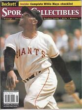 WILLIE MAYS Beckett Monthly Magazine May 2000 San Francisco Giants NR MT