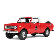 2016 1:25 FIRST GEAR 1:25 = 1979 International Scout Terra Pickup RED & WHITE