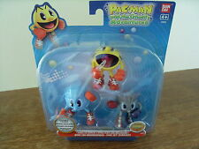 Pacman and the Ghostly Adventures - 3x figures - Brand New in Sealed Packet.