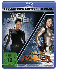 2 Blu-rays * TOMB RAIDER 1 & 2 ( Collector's Edit. ) # NEU OVP $