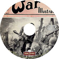 War Illustrated ~ Military History Magazine { Pictorial News and Maps } on DVD