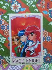 MAGIC KNIGHT RAYEARTH LUCHADORAS DE LEYENDA rare doll sega  card