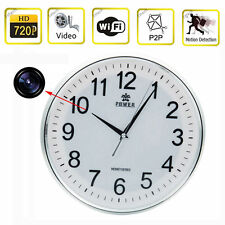 HD 720P Wireless IP P2P Wifi Camera Clock Camera Nanny DVR Digital Video Record