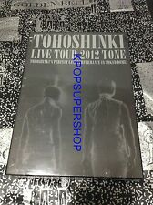 Tohoshinki Live Tour 2012 TONE 3 DVD First Press Limited Edition TVXQ DBSK NEW