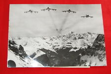 AVIATION AVION MIRAGE SUISSE ALPES  PHOTO DE PRESSE  MD232