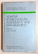 C. S. Holling (IIASA Hardcover) Adaptive Environmental Assessment And Management
