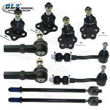 10 Of Suspension Set for 1997-1999 Dodge Dakota RWD Ball Joint Tie Rod End New