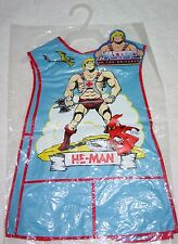 Masters of the Universe vintage Kid's ART SMOCK unused w/ Tags MOTU He-Man
