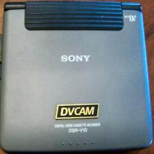 SONY DSR-V10 MINI DV VIDEO WALKMAN TV VCR MONITOR WORKS GREAT FOR VIDEO TO DVD