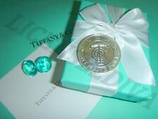 TIFFANY & CO $25 DOLLAR SILVER MERCHANDISE COIN! RETIRED! STERLING SILVER!