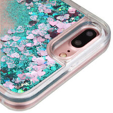 for iPhone 7+ Plus - LIQUID BLING QUICKSAND Floating Waterfall PC+TPU Case Cover