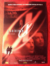 DAVID DUCHOVNY GILLIAN ANDERSON - THE X FILES - Polish promo POSTCARD