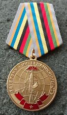 RUSSIAN  MEDAL  veteran-internationalist Cuba, Aghanistan Spain .Korea Vietnam