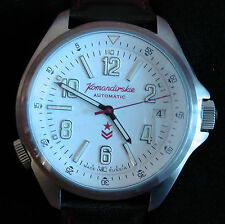 Wrist Automatic Watch VOSTOK KOMANDIRSKIE Commander Military K-34 470611 Gift