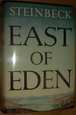 EAST OF EDEN by John Steinbeck 1st Edition with misspelling on page 281