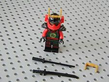 Lego Ninjago - Nya  Minifigure with Black Swords - New Condition !!
