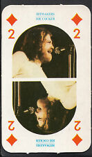 Monty Gum Card - 1970's Hitmakers Music Card - Joe Cocker